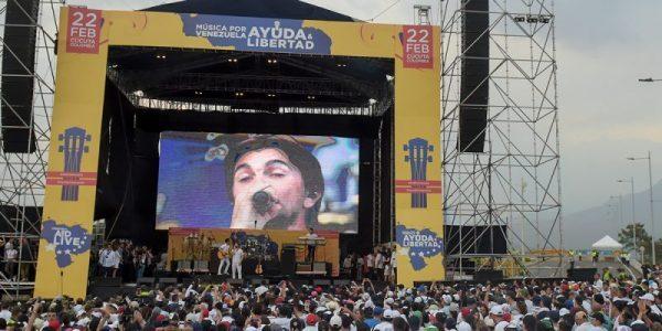 """Concierto """"Venezuela Aid Live"""""""