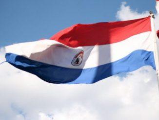 Foto/ Bandera de Paraguay