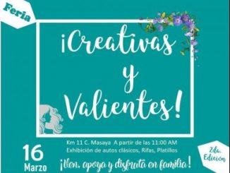 Feria Creativas y Valientes