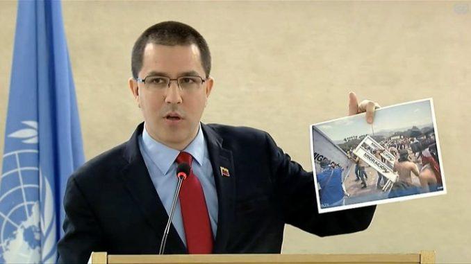 Jorge Arreaza,desaire,ONU,