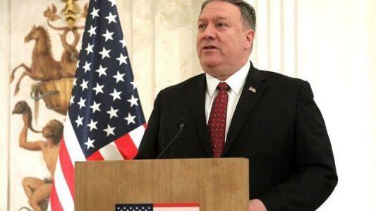Secretario de Estado de EE.UU., Mike Pompeo