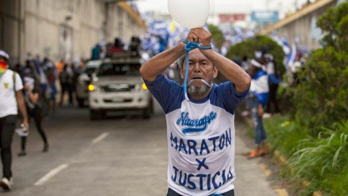 el maratonista nicaragüense