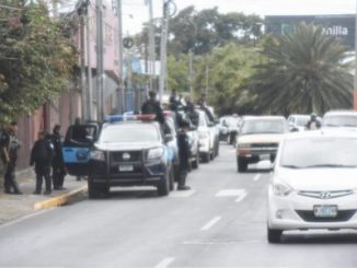 Managua bajo asedio policial/Foto/Cortesía