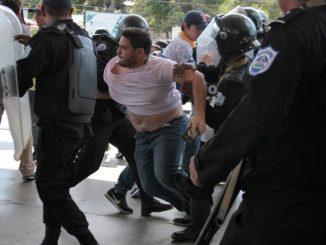 Represión en Nicaragua