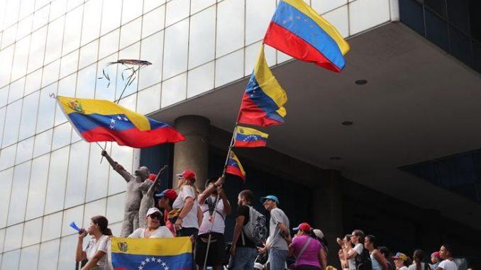 Varios sectores de Caracas