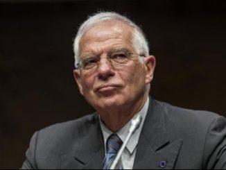 El ministro español de Exteriores y Cooperación, Josep Borrell
