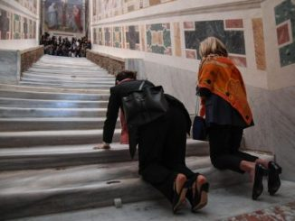 El Vaticano,escalera,