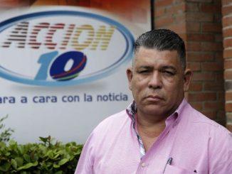 Mauricio Madrigal, jefe de prensa de Canal 10