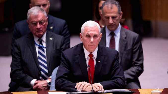 ONU,Mike Pence,