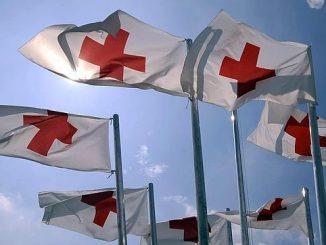 Banderas Cruz Roja