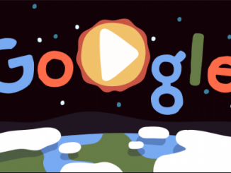 Día de la Tierra y Google