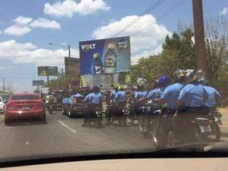 protestas express,policía,asedio,