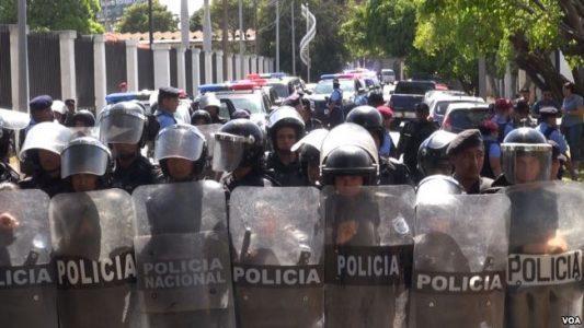 UNAB,protestas,represión,
