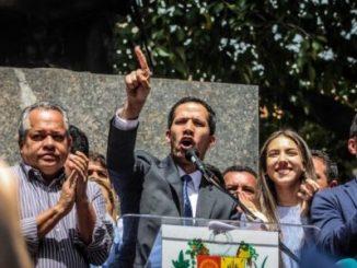 Juan Guaidó,marcha,