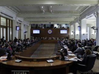 OEA,sesión,Nicaragua