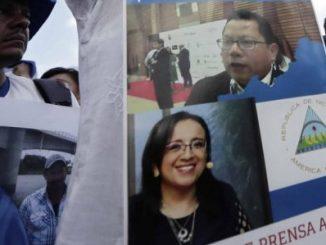 Lucia Pineda y Miguel Mora
