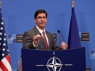 El secretario de Defensa estadounidense en funciones, Mark Esper. Foto: EFE