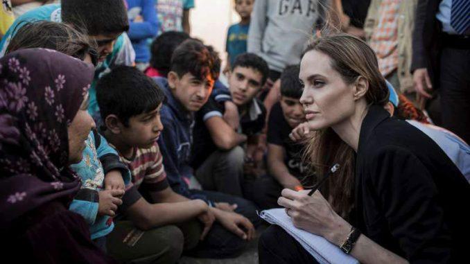 Angelina Jolie, embajadora de ACNUR