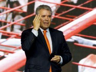 """El presidente de Colombia, Iván Duque, aseguró que la relación comercial entre su país y la vecina Venezuela se vio muy deteriorada por culpa de la """"dictadura"""". EFE"""
