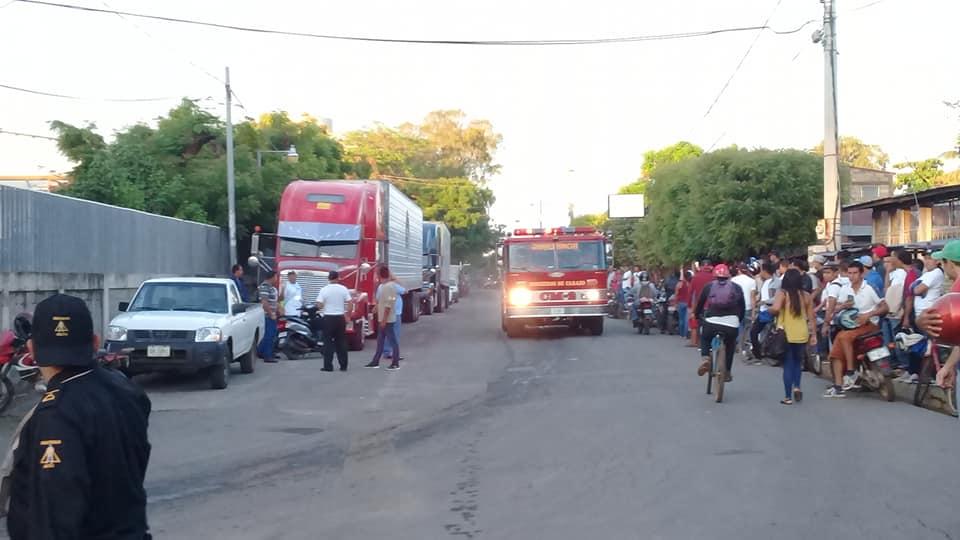 Incendio San Martin Nandaimee