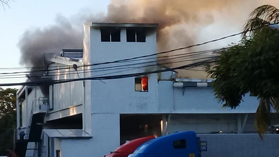 Incendio Matadero San Martin