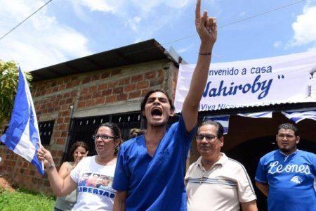 Lider estudiantil nicaragüense, Cristopher Nahiroby