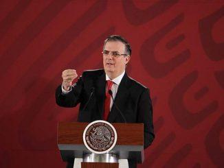 El canciller de México, Marcelo Ebrard. EFE