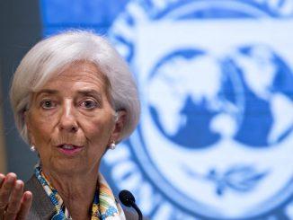 Christine Lagarde, directora gerente del FMI, advirtió durante una visita oficial a Malasia. Foto: Cactus24