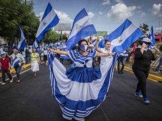 Flor Ramírez, símbolo de las protestas en Nicaragua