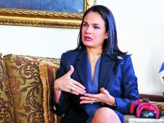La vicepresidenta y canciller de Panamá, Isabel De Saint Malo. Foto: Noticias de Panamá.