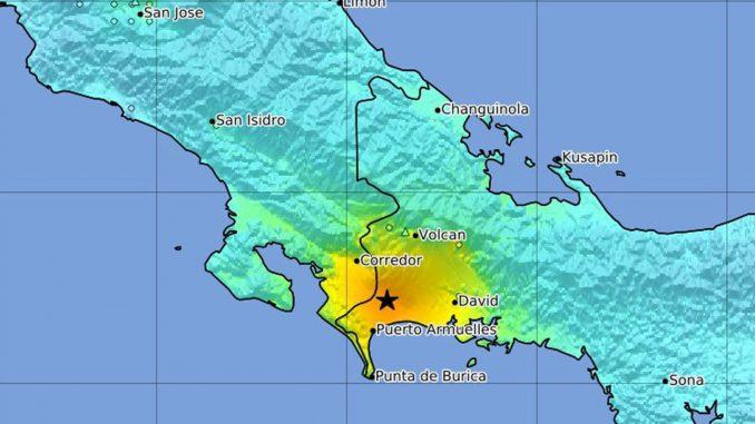 Costa Rica,Panamá,terremoto,