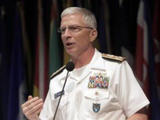 El almirante Craig Faller, comandante del Comando Sur de las Fuerzas Armadas de Estados Unidos. Foto: Miami Herald