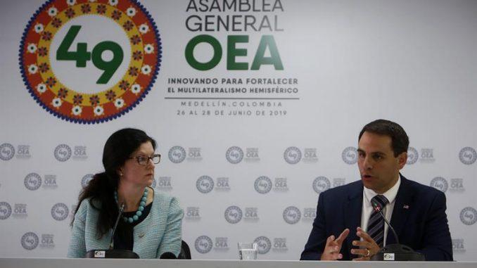 Estados Unidos,OEA,Ortega,