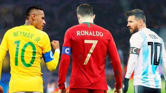 Neymar vs Cristiano Ronaldo vs Messi