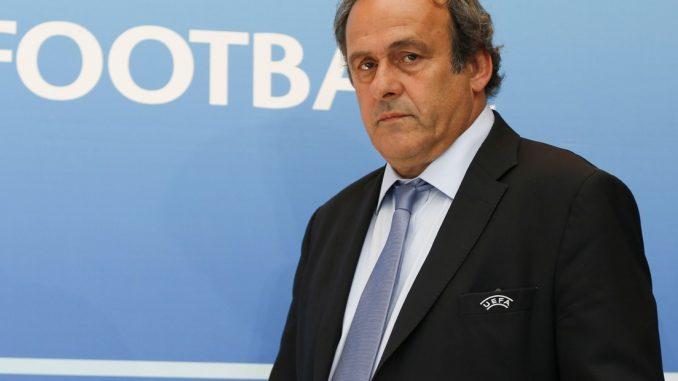 El exfutbolista francés y expresidente de la UEFA Michel Platini