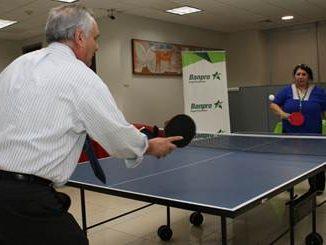 Primer torneo de Tenis de Mesa o Ping Pong. Foto: Banpro