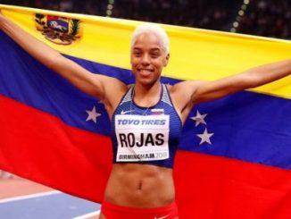 Yulimar Rojas, venezolana, medallista de plata de los JJOO Río 2016. Foto: WTC-Radio