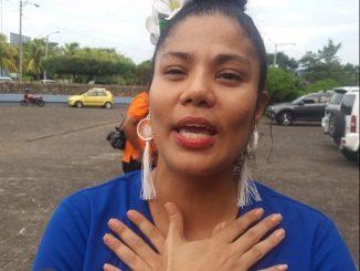 Activista excarcelada, Irlanda Jerez,