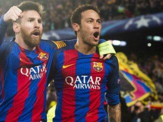 Neymar y Messi. Foto: StudioFútbol