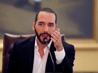El presidente de El Salvador, Nayib Bukele. Foto: Reurters