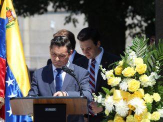 Embajador de la República Bolivariana de Venezuela ante Estados Unidos, Carlos Vecchio. Foto: La Patilla