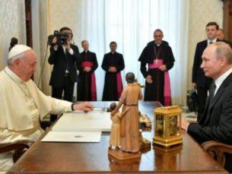 Papa Francisco,Vladimir Putin,