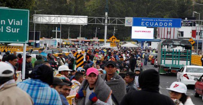 ECUADOR- VENEZUELA
