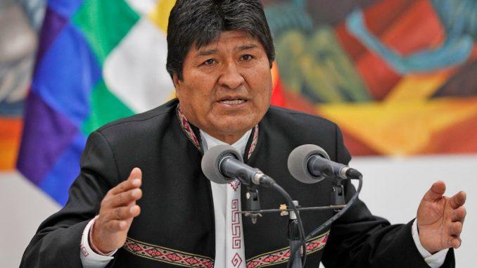 El momento en el que Evo Morales huye de Bolivia
