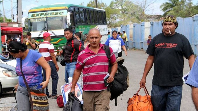 Nicaragua para Costa Rica