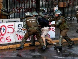 REPRESION- PROTESTAS