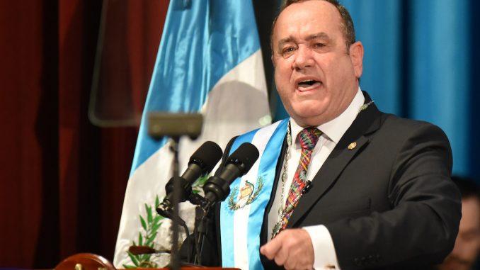 Presidente de Guatemala, Alejandro Giammattei