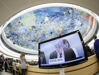 El jefe de Naciones Unidas