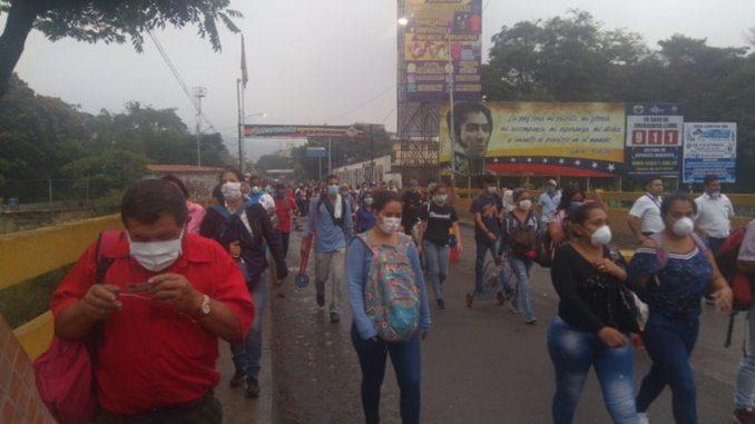 VENEZUELA-COLOMBIA- MIGRANTES