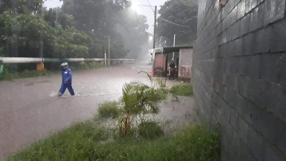 Lluvias afectan departamentos de Nicaragua